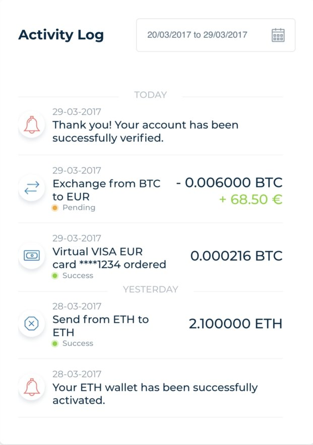 Visa Card Crypto Wallet Exchange