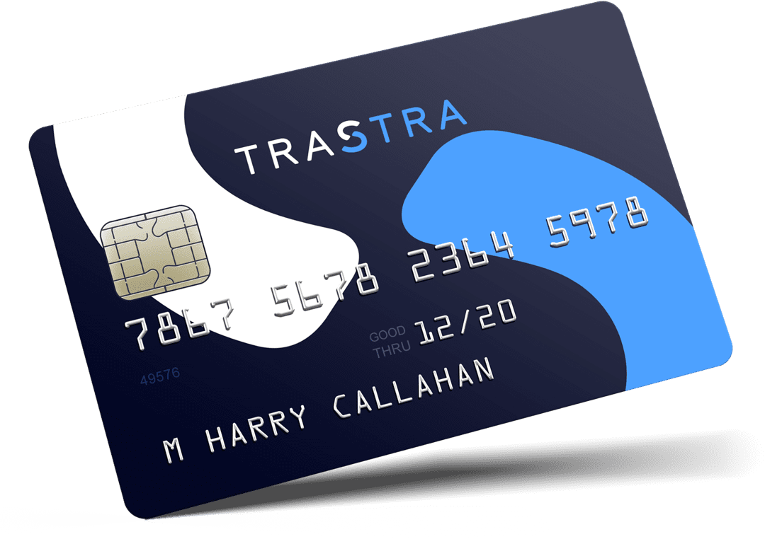 Get cash at any ATM from your BTC or ETH wallet with the help of TRASTRA card. Turn BTC to cash with TRASTRA