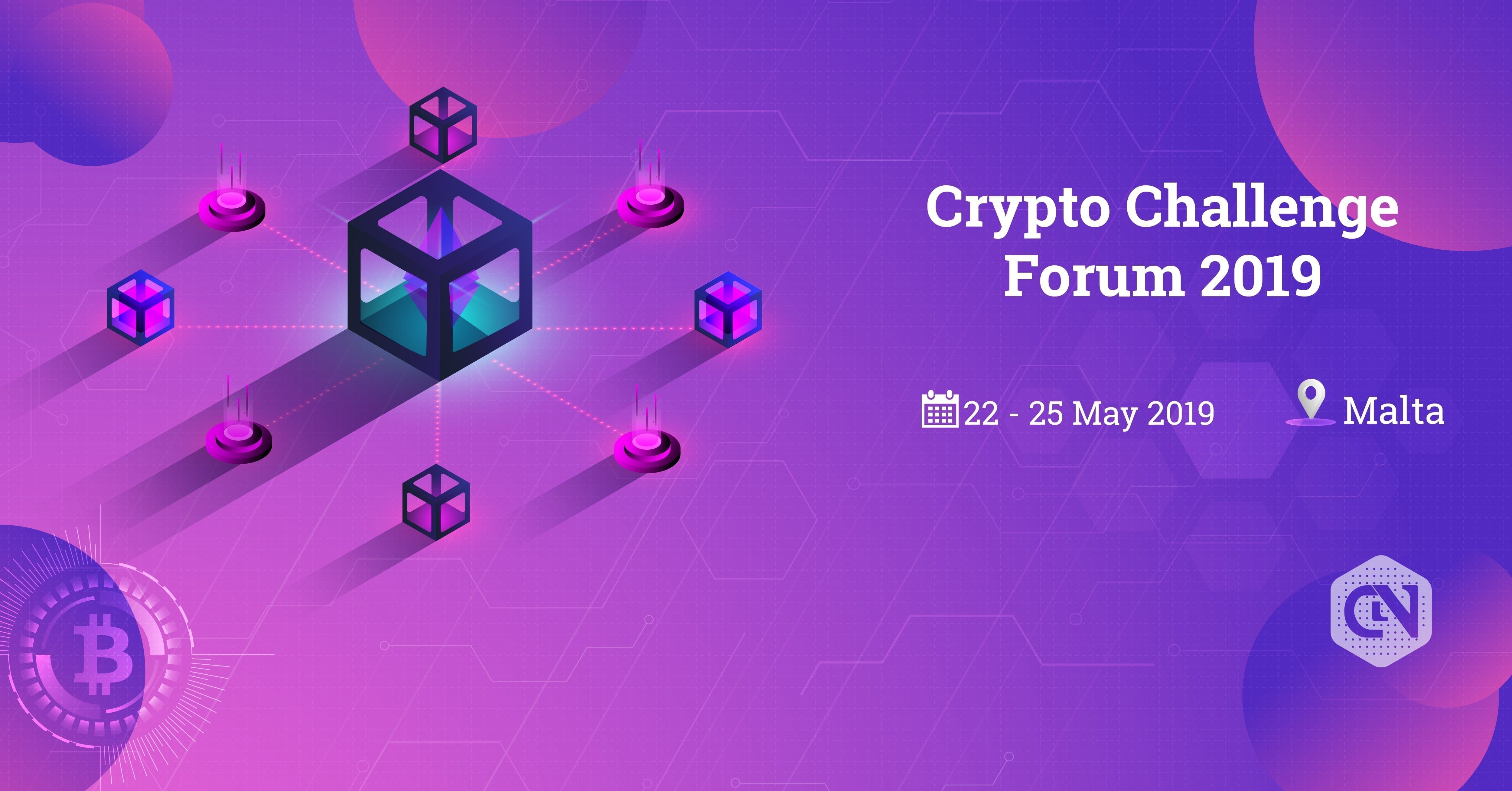 Crypto Challenge Forum, Malta, event, conference, summit, bitcoin, blockchain, crypto, cryptocurrency, may, 2019