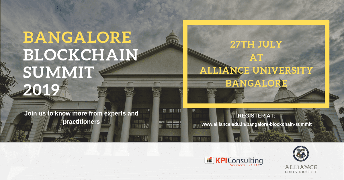 Bangalore Blockchain Summit, India,  event, conference, summit, bitcoin, blockchain, crypto, cryptocurrency, july, 2019