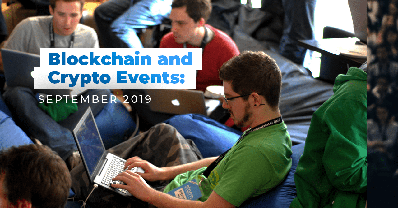 crypto, cryptocurrency, bitcoin, blockchain, events, 2019, september, crypto community