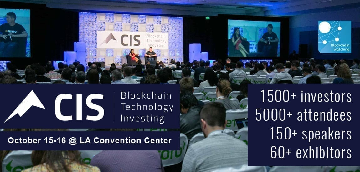 Crypto Invest Summit, Los Angeles, conference, summit, event, bitcoin, blockchain, crypto, cryptocurrency, October, 2019