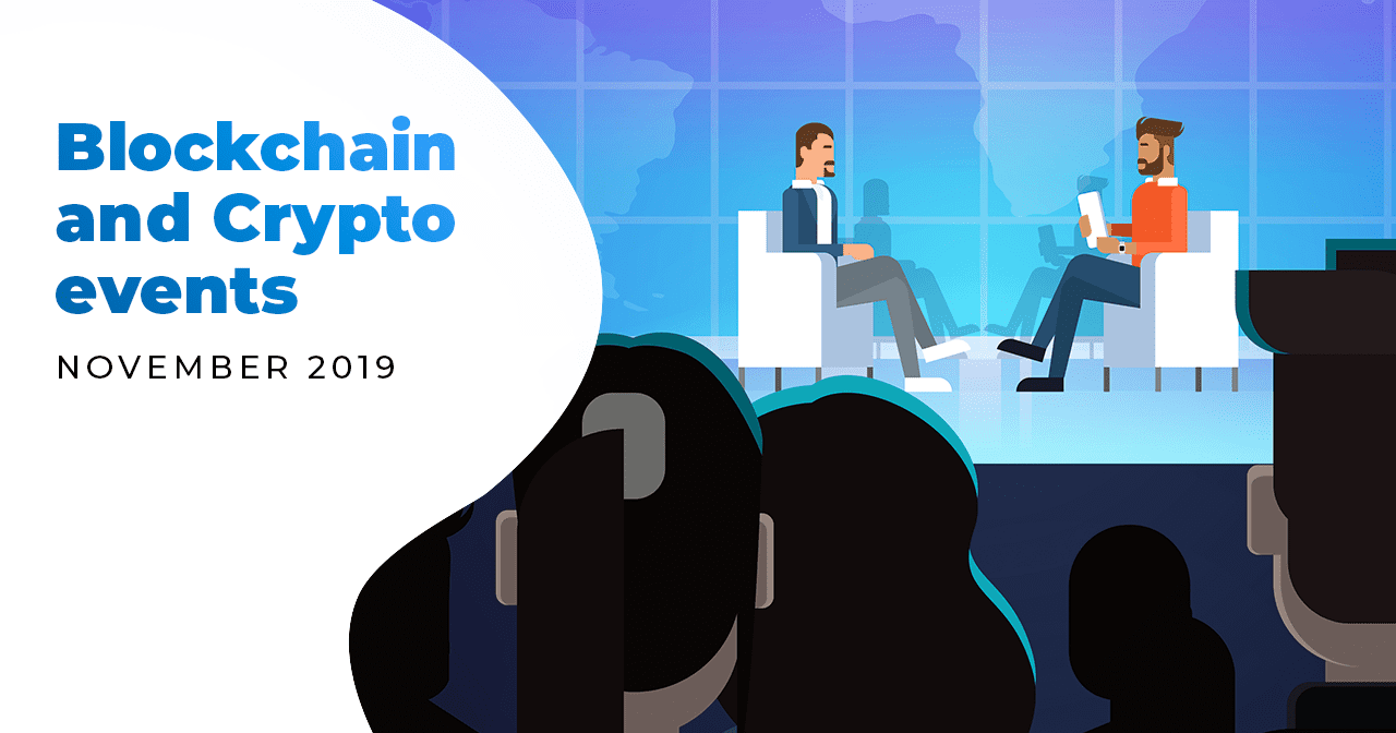 crypto, cryptocurrency, bitcoin, blockchain, events, november, 2019, visit