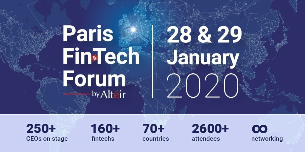 Paris ,Fintech, Forum, crypto, event, january, 2020, paris