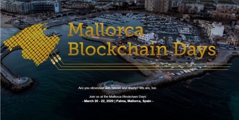 Mallorca Blockchain Days, march, 2020, events, crypto, cryptocurrency, bitcoin, blockchain