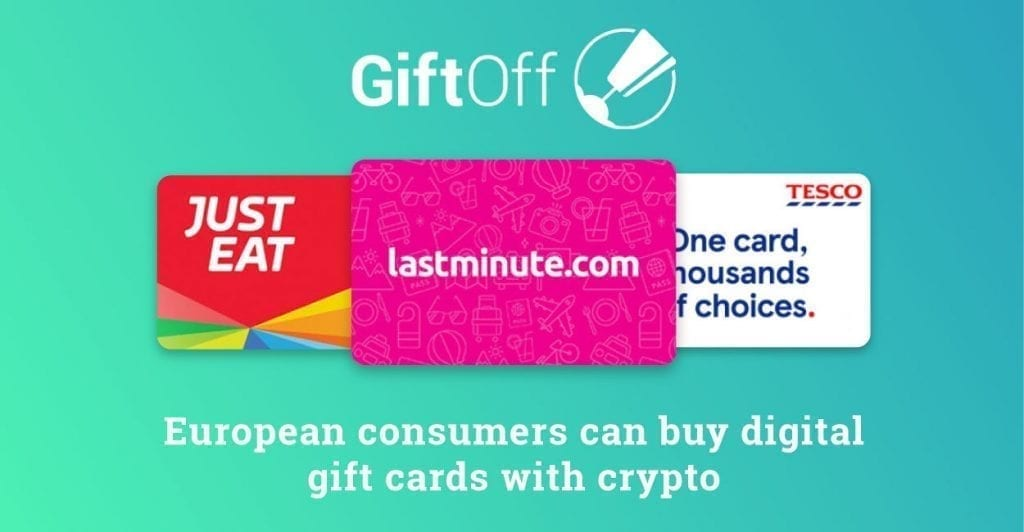 gift cards, giftoff, crypto payments, purchases, crypto, cryptocurrency, bitcoin