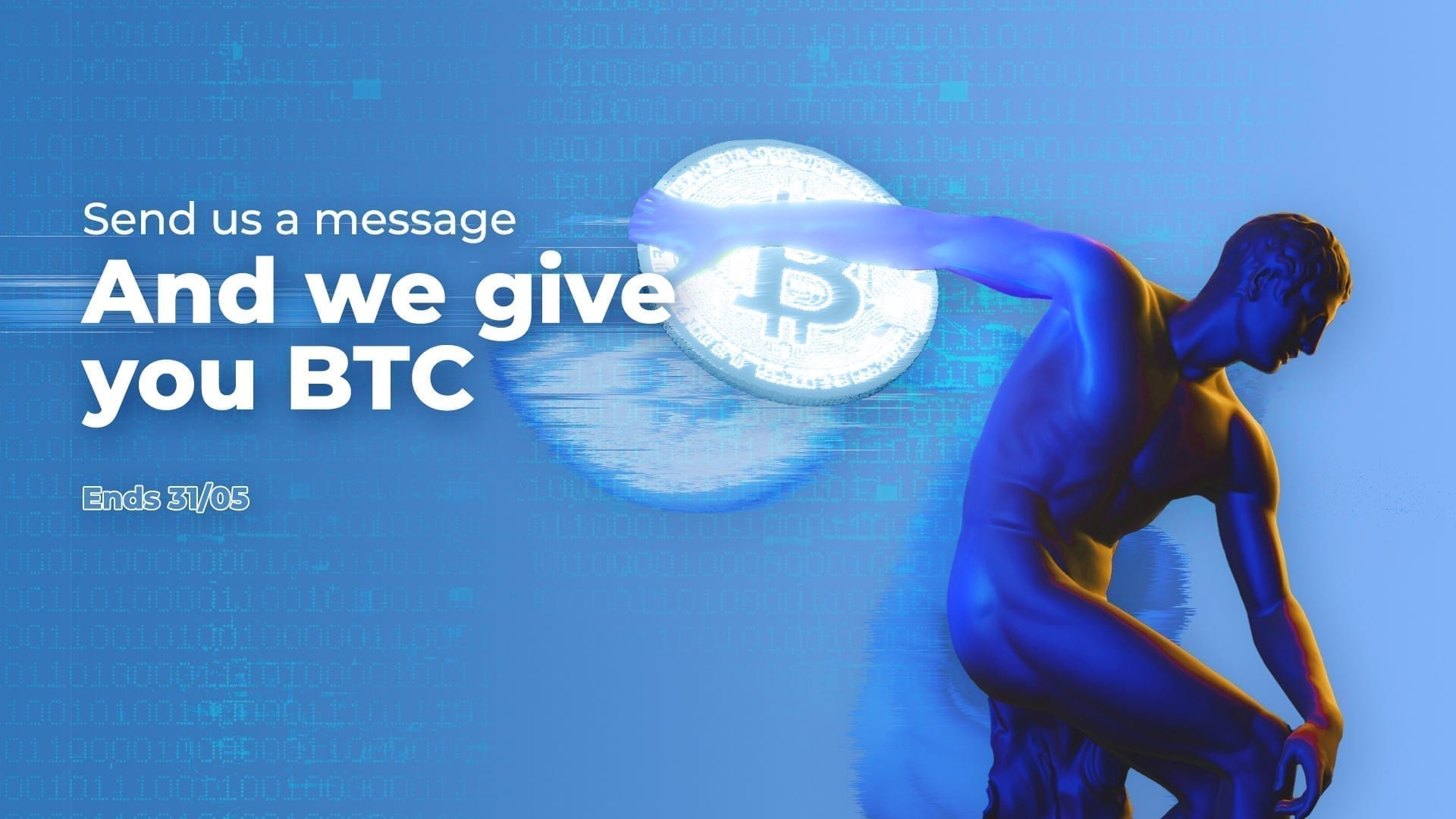TRASTRA is giving away 10 EUR in BTC